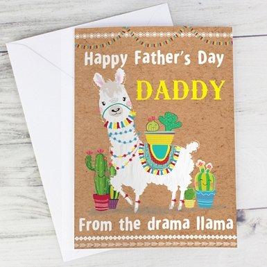 Personalised Llama Card delivery to UK [United Kingdom]