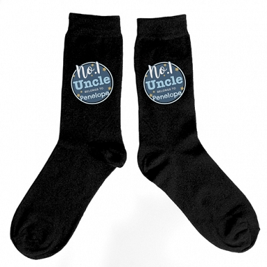 Personalised No.1 Mens Socks Delivery to UK