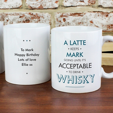 Personalised Acceptable To Drink Mug Delivery to UK