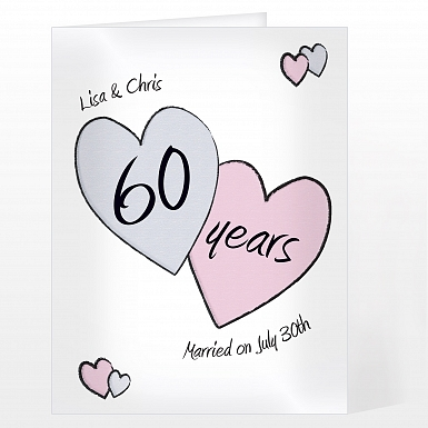 Personalised Perfect Love Diamond Card