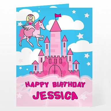 Personalised Princess Card