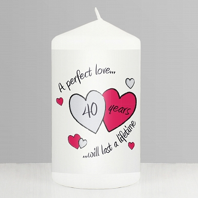 Perfect Love Ruby Candle