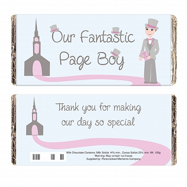 Fabulous Page Boy Milk Chocolates Bar