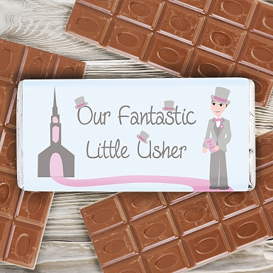 Fabulous Little Usher Milk Chocolates Bar
