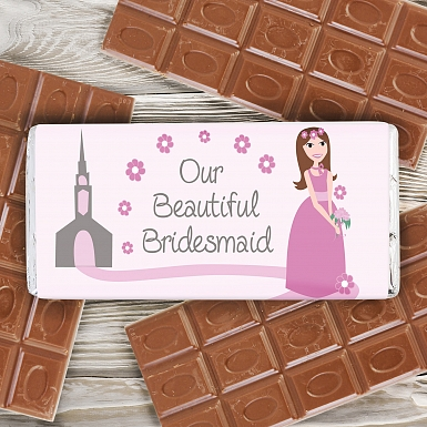 Fabulous Bridesmaid Milk Chocolates Bar