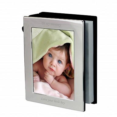 Silver 6x4 Photoframe Album delivery to UK [United Kingdom]