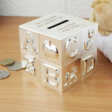 Personalised ABC Money Box
