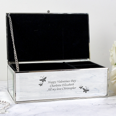 Butterflies Jewellery Box delivery to UK [United Kingdom]