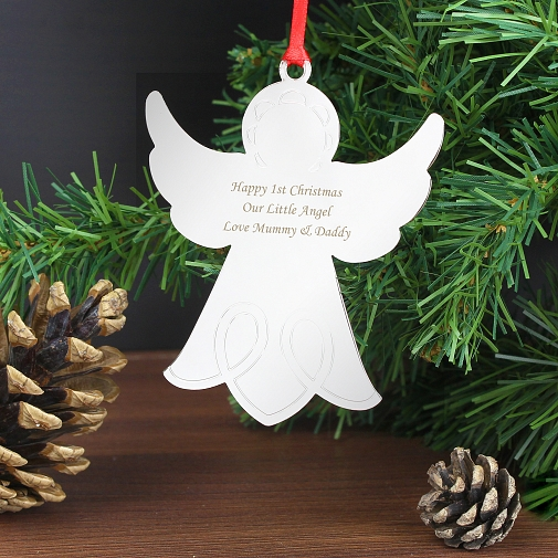 Personalised Angel Tree Decoration