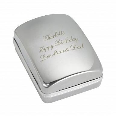 Personalised Necklace Gift Box