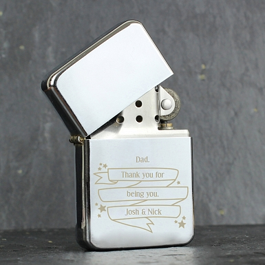 Personalised Shining Star Lighter