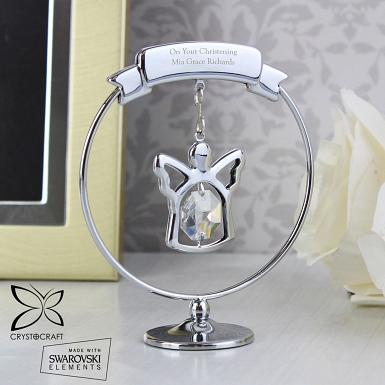 Crystal Angel Ornament