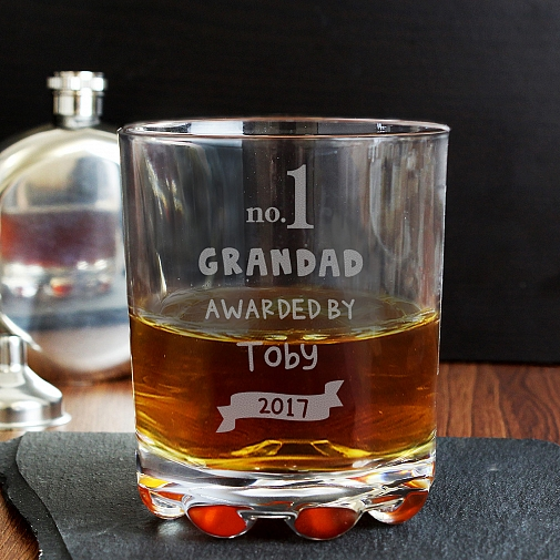 Personalised no.1 Awarded By Tumbler