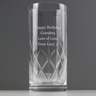 Personalised Crystal Hi Ball Glass