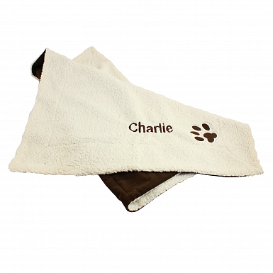 Personalised Luxury Dog Blanket/Mat