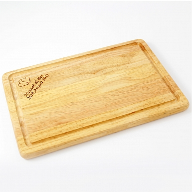 Personalised Rectangle Chopping Board