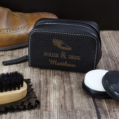 Polish and Shine Shoeshine Kit