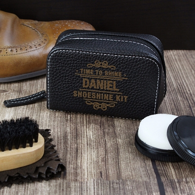 Time to Shine Shoeshine Kit