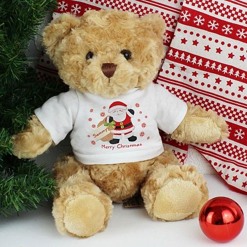 Felt Stitch Santa Teddy