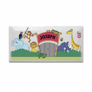 Personalised Zoo Door Plaque