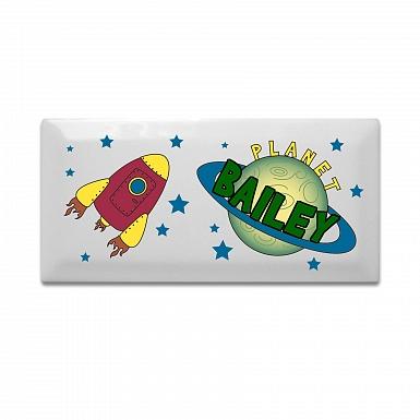 Personalised Space Door Plaque