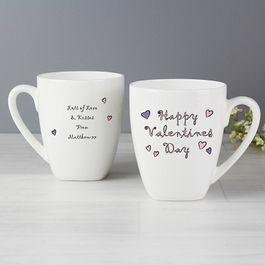 Happy Valentines Day Mug delivery to UK [United Kingdom]