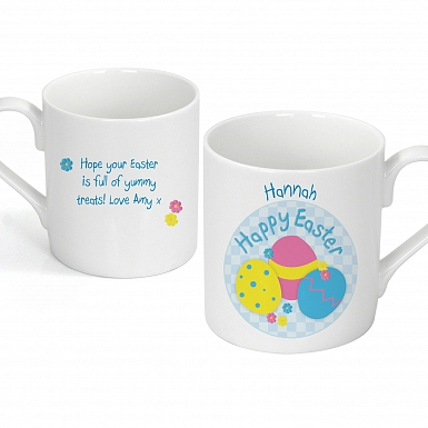 Personalised Easter Eggs Mug