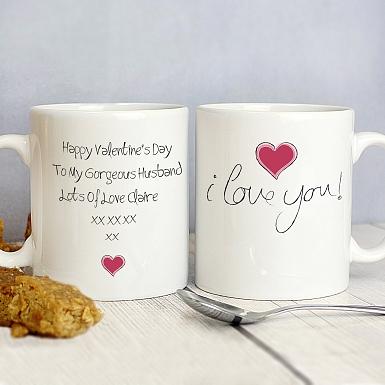 I Love You Mug delivery to UK [United Kingdom]