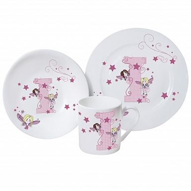 Personalised Fairy Letter Breakfast Set
