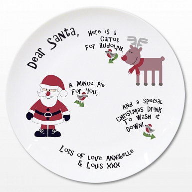 Personalised New Mince Pie Plate