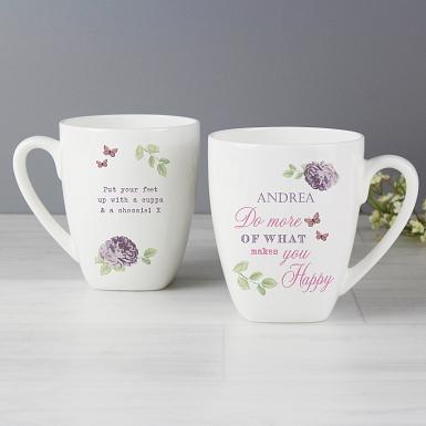 Secret Garden Latte Mug