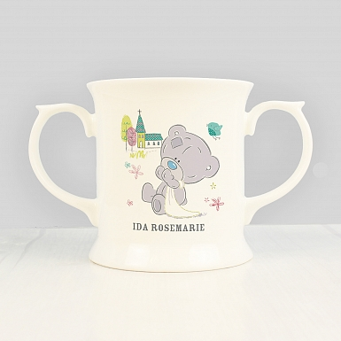 Personalised Tiny Tatty Teddy Christening Loving Mug