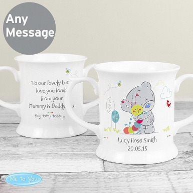 Personalised Tiny Tatty Teddy Cuddle Bug Loving Mug