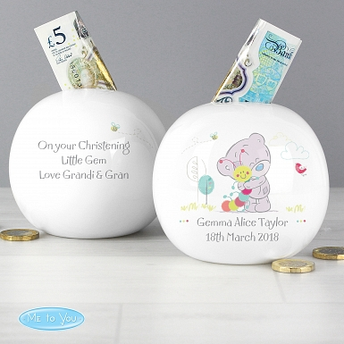 Personalised Tiny Tatty Teddy Cuddle Bug Money Box