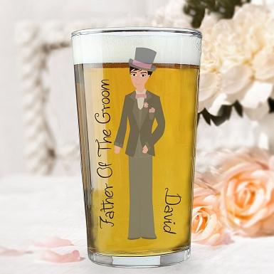 Personalised Fabulous Male Pint Glass