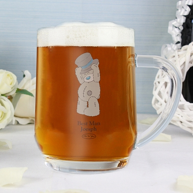 Personalised Me To You Wedding Tankard