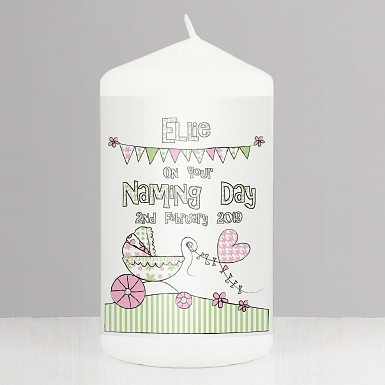 Whimsical Pram Candle delivery to UK [United Kingdom]