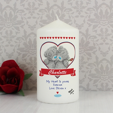 Personalised Me to You Couple Candle