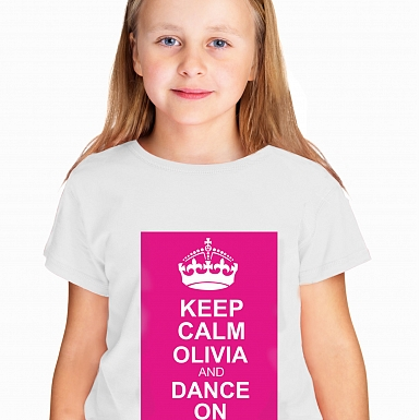 Personalised Established PinkText Tshirt 9-11 years