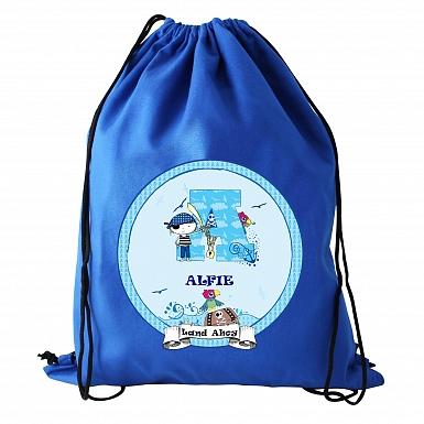 Personalised Pirate Swim & Kit Bag