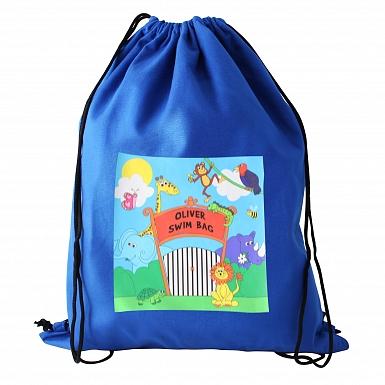 Personalised Zoo Swim & Kit Bag