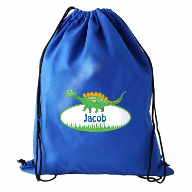 Personalised Dinosaur Swim & Kit Bag