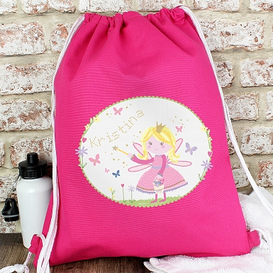Personalised Garden Fairy Swim & Kit Bag