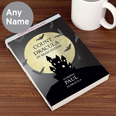 Personalised Dracula Novel - 6 Characters