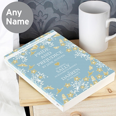 Personalised Pride and Prejudice Novel - 6 Characters