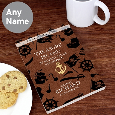 Personalised Treasure Island Novel - 6 Characters