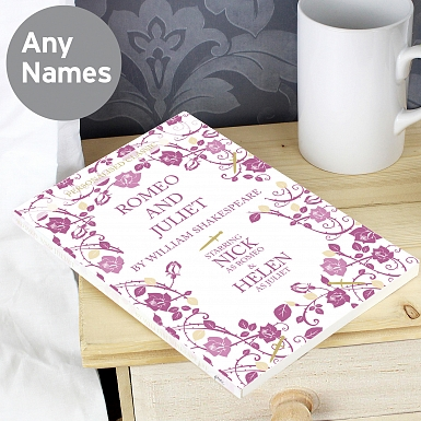 Personalised Romeo and Juliet Novel - 6 Characters