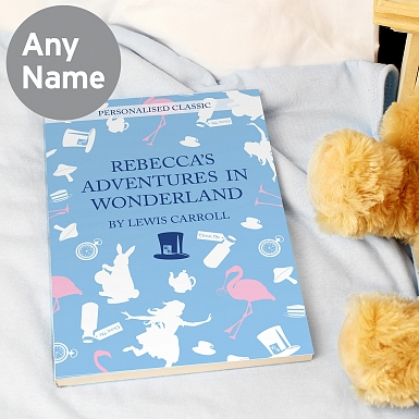 Personalised Alice in Wonderland Novel - 6 Characters