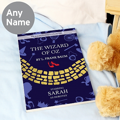 Personalised The Wizard of OZ Novel - 6 Characters
