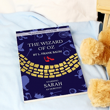 Personalised The Wizard of OZ Novel - 1 Character